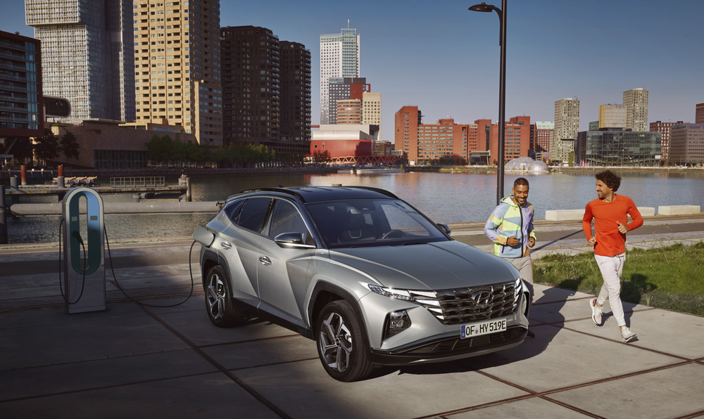 Naujasis Hyundai Tucson plug-in