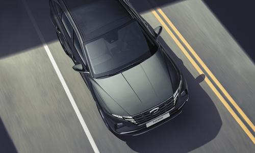 Naujasis Hyundai Tucson sauga eismo juostų laikymasis