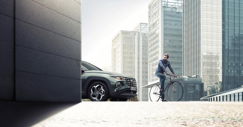 Naujasis Hyundai Tucson sauga geriausias paketas