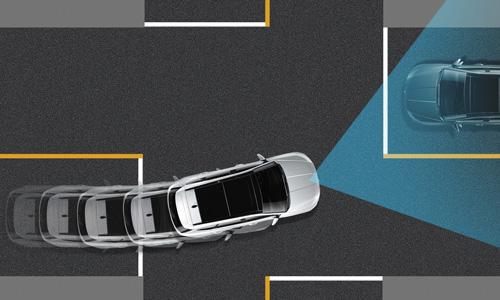Naujasis Hyundai Tucson sauga priekinio susidūrimo išvengimas
