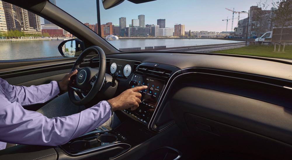 Naujasis Hyundai Tucson susiejimas