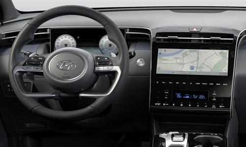 Naujasis Hyundai Tucson vairas