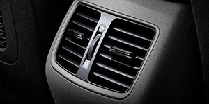 Hyundai Tucson ventiliacija