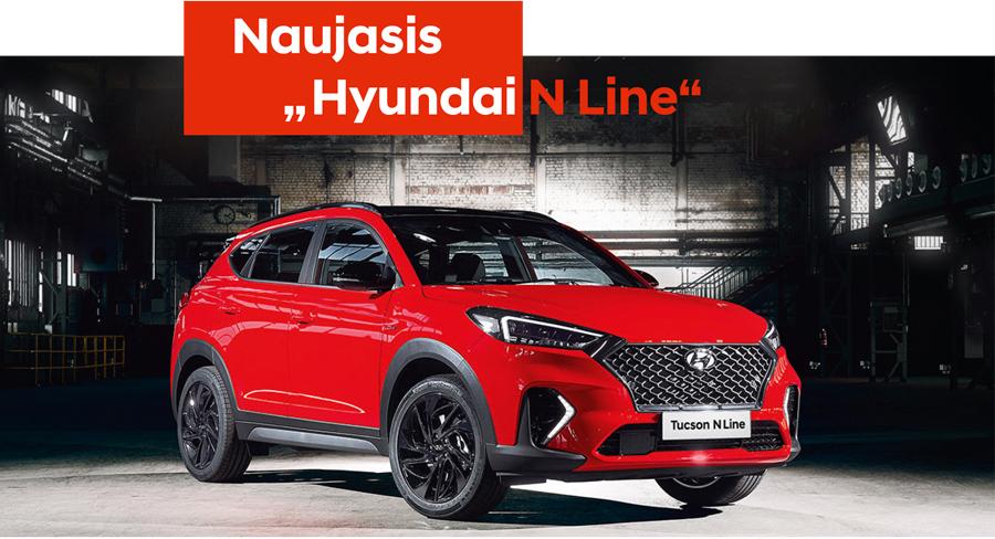 Hyundai TUCSON N-line Fakto Auto