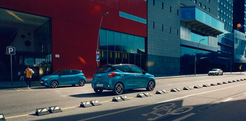 Naujasis Hyundai i10 patogumas