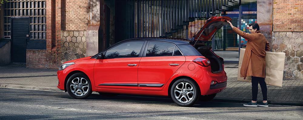 Hyundai i20 erdvė be kompromisų