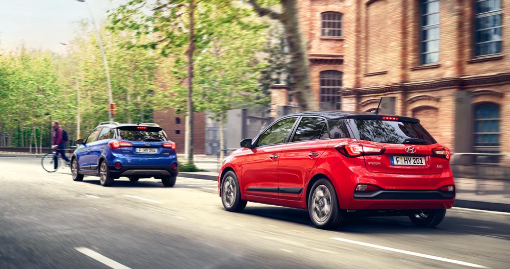 Hyundai i20 daugiau saugumo daugiau ramybės