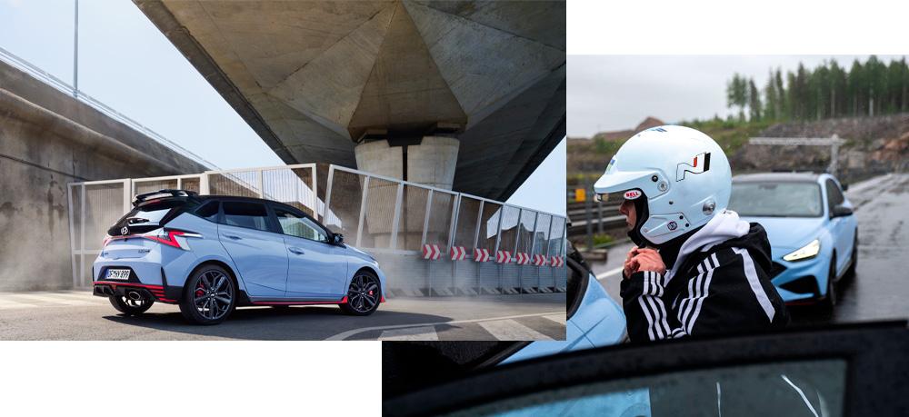 Naujasis Hyundai i20 N didelė galia maksimaliam malonumui