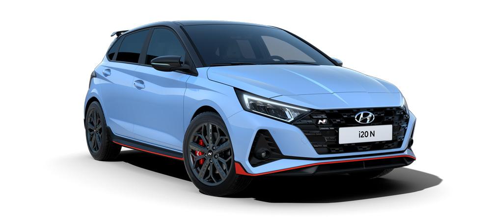Naujasis Hyundai i20 N sportinis charakteris
