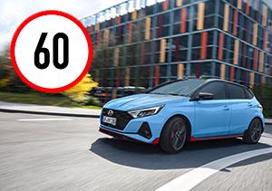 Naujasis Hyundai i20N MY21 išmanus greičio ribojimas