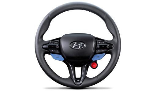 Naujasis Hyundai i20N MY21 N linijos vairas