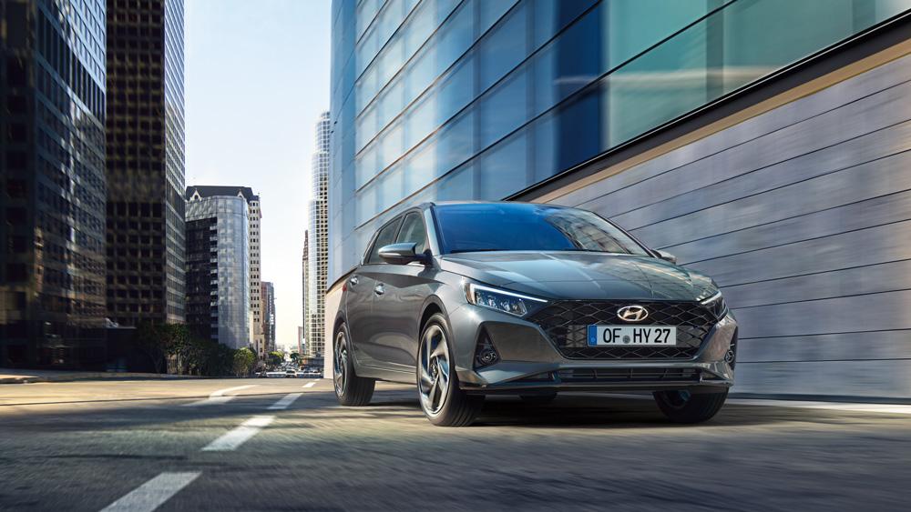 Naujasis Hyundai i20 dinamika