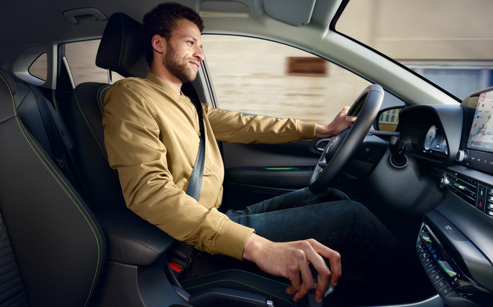 Naujasis Hyundai i20 pusiau hibridinė transmisija