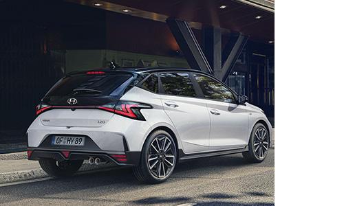 Hyundai i20 N LINE energingas galas