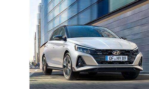 Hyundai i20 N LINE autosporto įkvėptas priekis