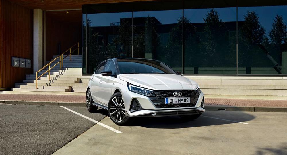 Hyundai i20 N LINE funkcionalus dizainas ir sportinė išvaizda