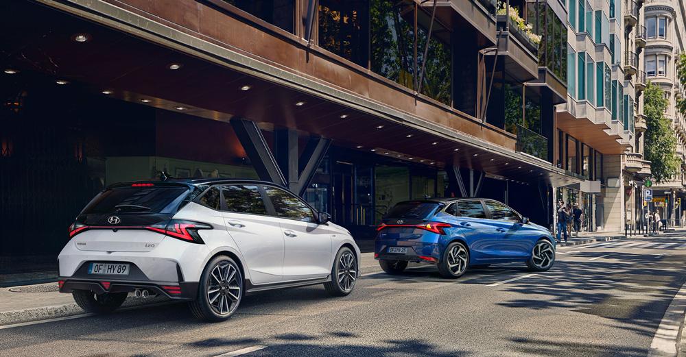 Hyundai i20 N LINE Didesnis efektyvumas ir dinamiškumas