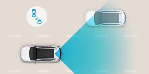 Naujasis Hyundai i20 my21 aklosios zonos sistema