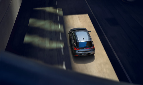 Naujasis Hyundai i20 my21 išmanus greičio palaikymas