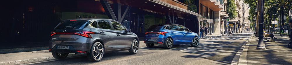 Naujasis Hyundai i20 my21 priekinės transporto priemonės pajudėjimas