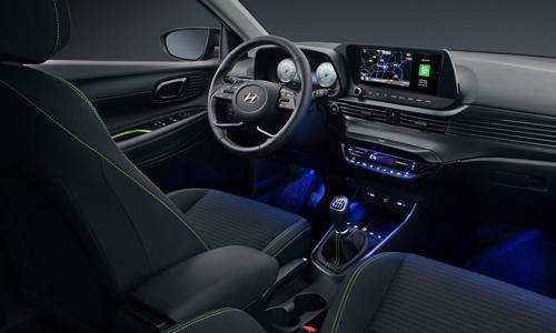 Naujasis Hyundai i20 led salono apšvietimas