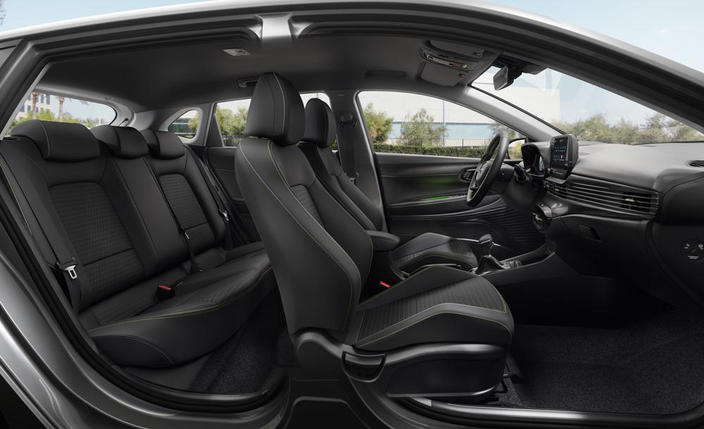Hyundai i20 stilingas ir patogus vidus