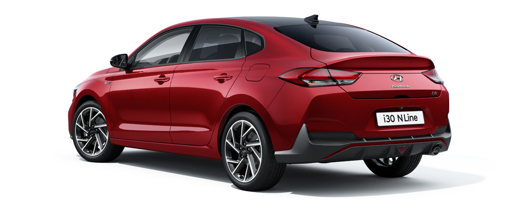 Naujasis i30 fastback N LINE galingas ir elegantiškas fakto autocentras