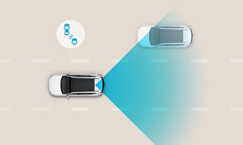 Naujasis Hyundai i30 fastback my21 susidūrimo akloj zono išvengimas