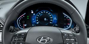 Hyundai i30 fastback naujas skaitmeninis skydas