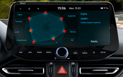 Naujasis Hyundai i30 Fastback N MY21 N Grin Shift