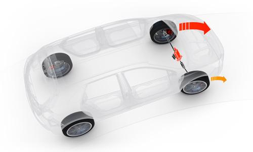Naujasis Hyundai i30 Fastback N MY21 Posūkio diferencialas
