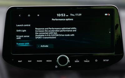 Naujasis Hyundai i30 Fastback N MY21 N Power Shift
