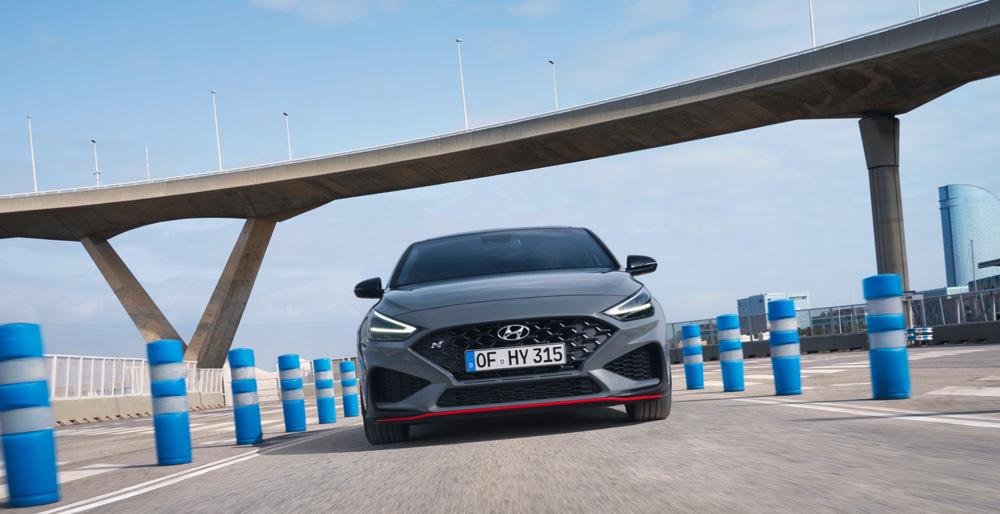 Naujasis Hyundai i30 Fastback N išorė