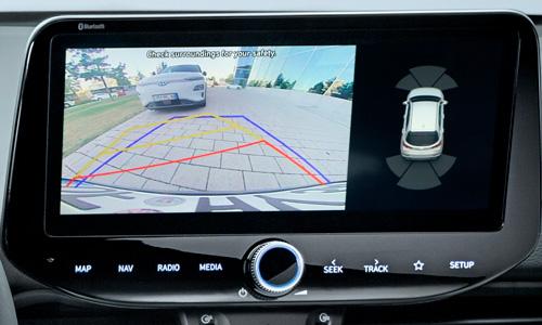 Naujasis Hyundai i30 Fastback N MY21 Galinio vaizdo kamera