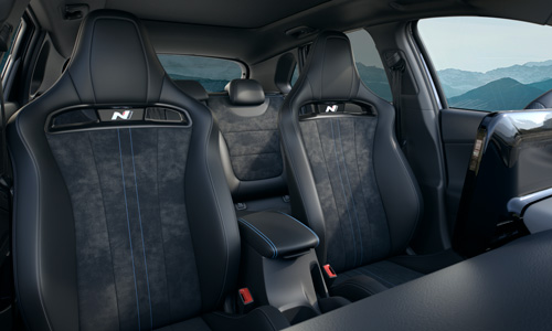 Naujasis Hyundai i30 Fastback N MY21 įsitaisykite kaip profesionalai