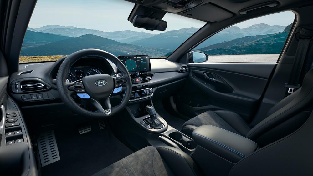 Naujasis Hyundai i30 Fastback N MY21 Vidus
