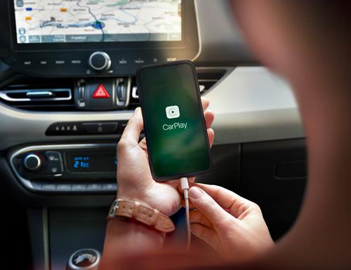 Naujasis Hyundai i30 my21 apple CarPlay Android Auto