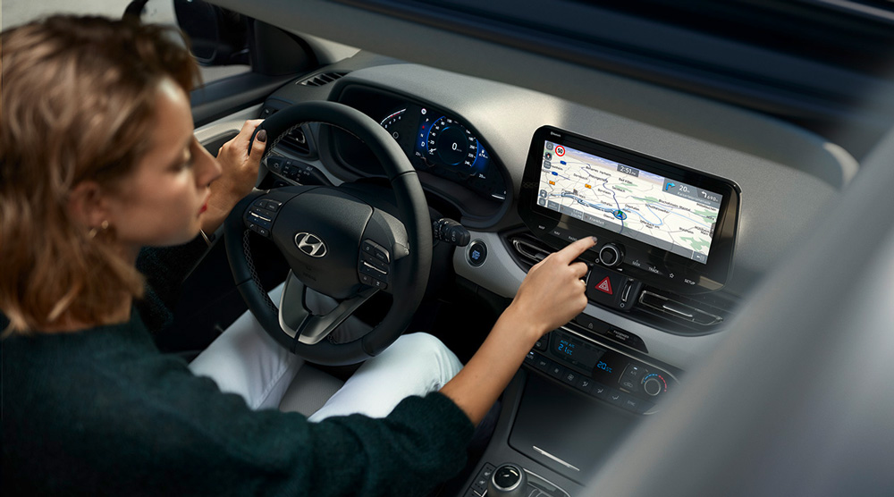 Hyundai i30 my21 rafinuotas vidus