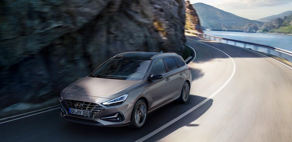 Naujasis Hyundai i30 wagon my21 sukurtas judėti maloniai