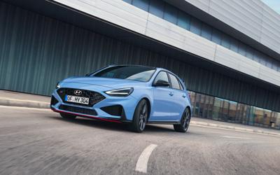 Naujasis Hyundai i30N MY21 N Track Sense Shift