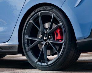 Naujasis Hyundai i30 N 19col lengvojo lydinio ratlankiai