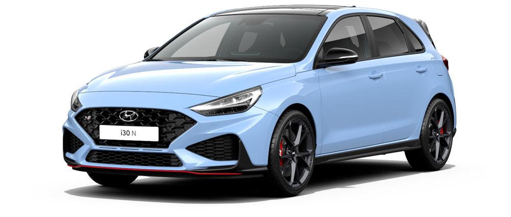 Naujasis Hyundai i30 N aerodinaminės šoninės arkos