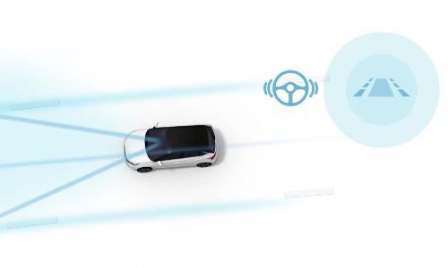 Naujasis Hyundai i30N MY21 Eismo juostos išlaikymo sisema