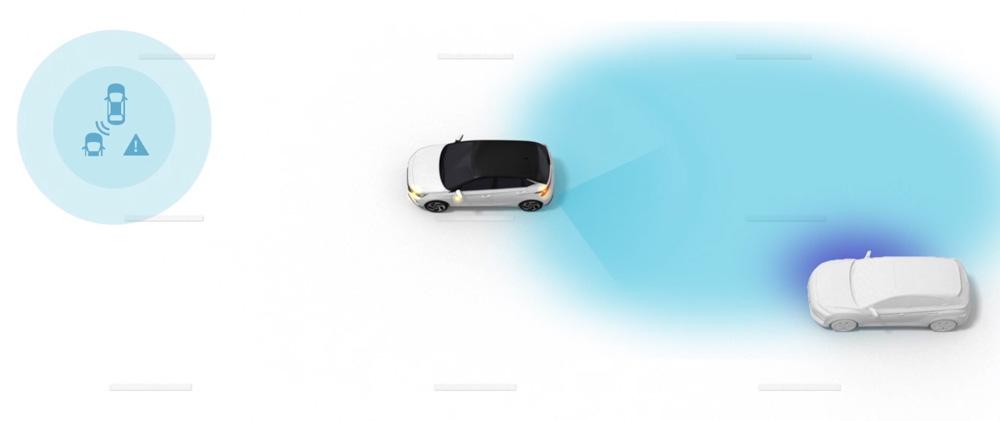 Naujasis Hyundai i30N MY21 Susidūrimo akloje zonoje sistema
