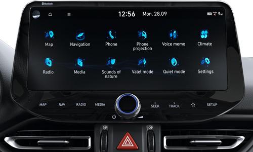 Naujasis Hyundai i30N MY21 prijunkite išmanųjį telefoną
