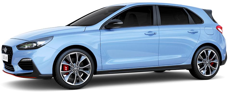 Hyundai i30 N dizainas