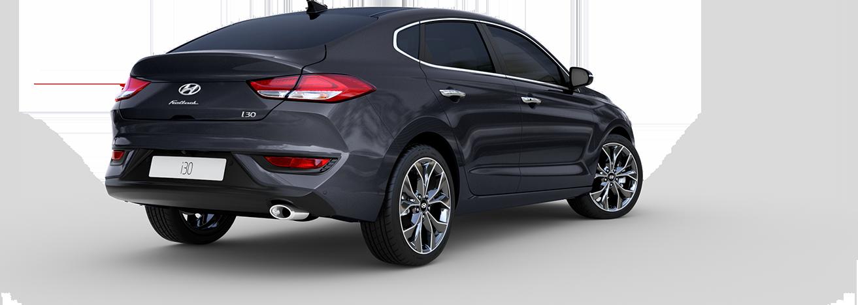 Hyundai i30 Fastback  dizainas galas