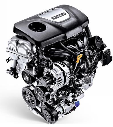 Hyundai i30 Fastback  variklis