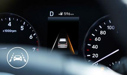 Hyundai i30 Fastback  saugumo sistemos