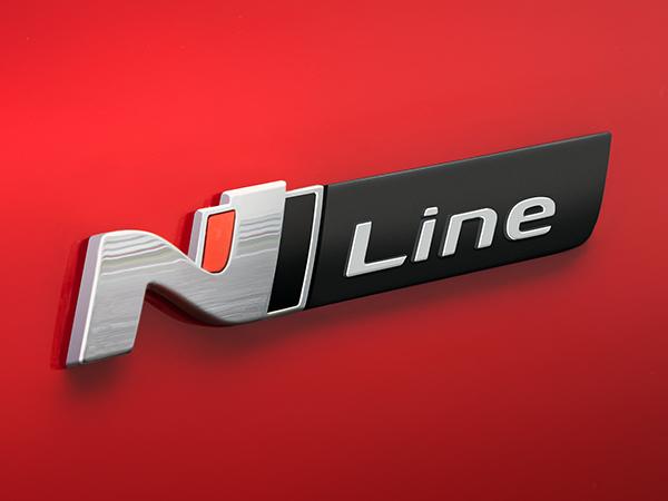 Hyundai N Line ženkliukas